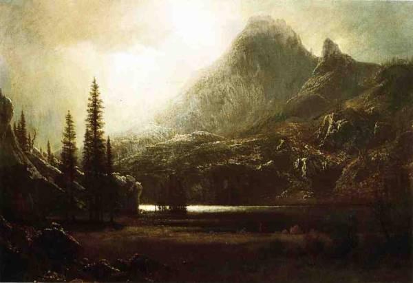 By a Mountain Lake